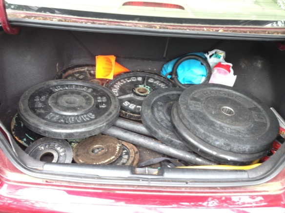 The Trunk of my Honda Civic